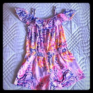 Girls Lilly Pulitzer romper
